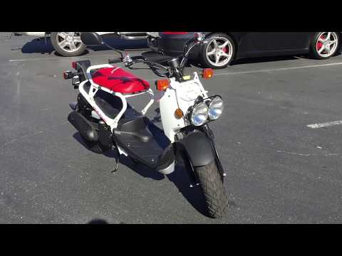 CONTRA COSTA POWERSPORTS-NEW 2017 HONDA RUCKUS MOTORSCOOTER