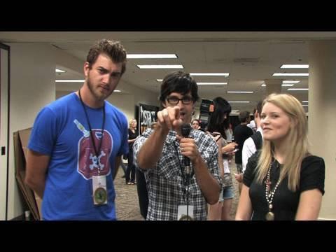 VidCon 2010: YouTube Musicians - Dave Days, Rhett & Link, DFTBA Records & more!