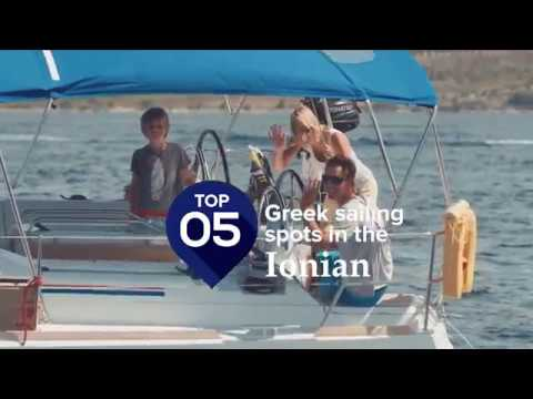 Top 5 Sailing Spots in the Ionian Sea