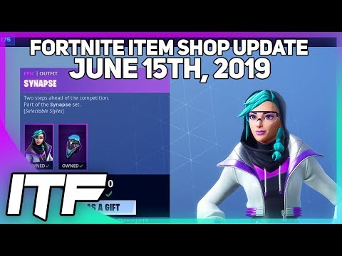 Fortnite Item Shop New Synapse Skin Set June 15th 2019