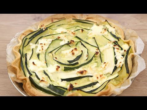 Tourbillon de courgette