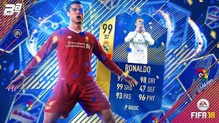 TOTS 99 RONALDO IN A PACK!! | FIFA 18 ULTIMATE TEAM