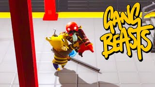 I Got In A Fight With A BULL In Gang Beasts | JeromeACE