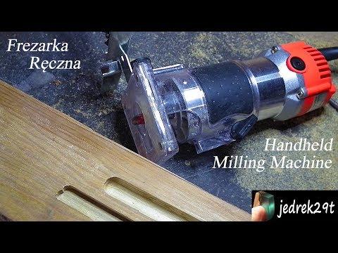 Handheld Milling Machine 800W from BangGood. Unboxing/Frezarka Ręczna 800W