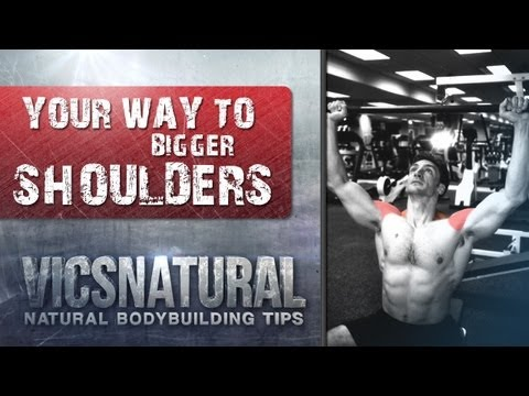 Best shoulder workout Best shoulder Exercise How to Get Big Shoulders with Victor Costa Vicsnatural