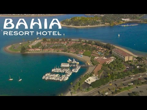 san diego hotels - bahia hotel - youtube
