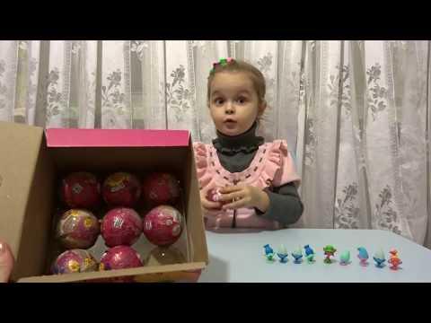 Тролли Chupa Chups ТРОЛЛИ TROLLS Шоколадные шары Чупа Чупс Тролли Chocolate Balls Chupa Chups Trolls