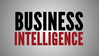 What is Business Intelligence …