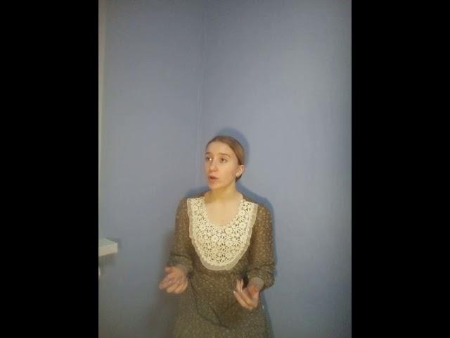 Изображение предпросмотра прочтения – МарияДедюкова читает произведение «Покраснела рябина» С.А.Есенина