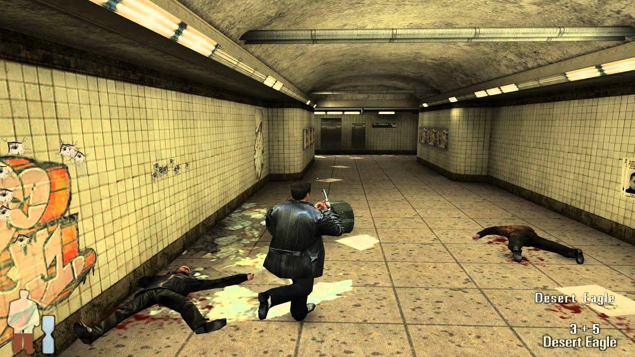 Max Payne 1 Gameplay Youtube