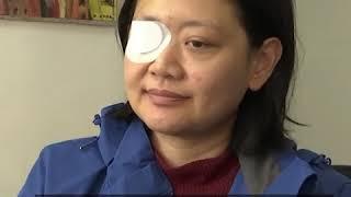 印尼女记者遭港警打瞎眼逾两月 仍在仍待警方回应