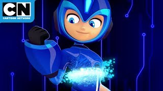 Mega Man: Fully Charged | Hypno Woman Strikes Again | Cartoon Network