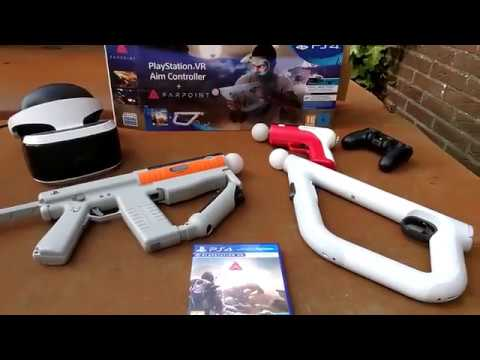 Farpoint + PlayStation VR Aim Controller Unboxing