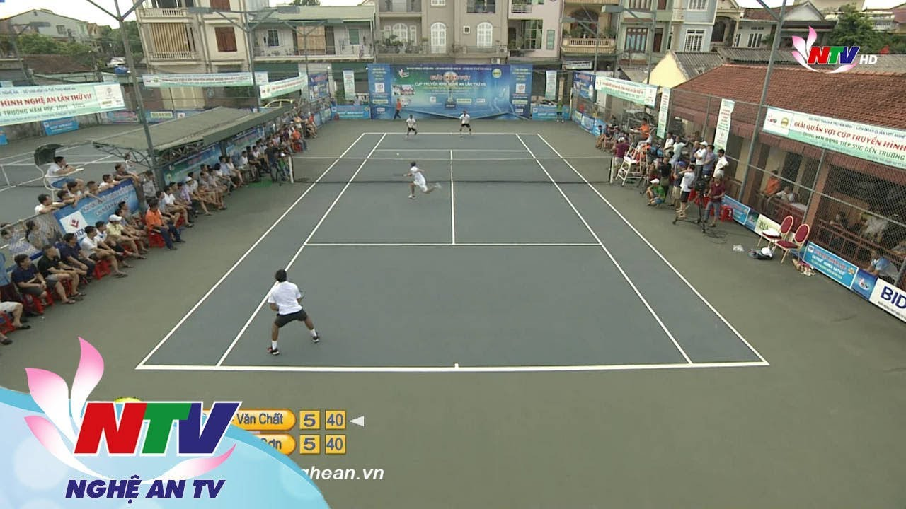 Trận chung kết đôi nam ngoại hạng - Giải quần vợt CUP NTV - 2019