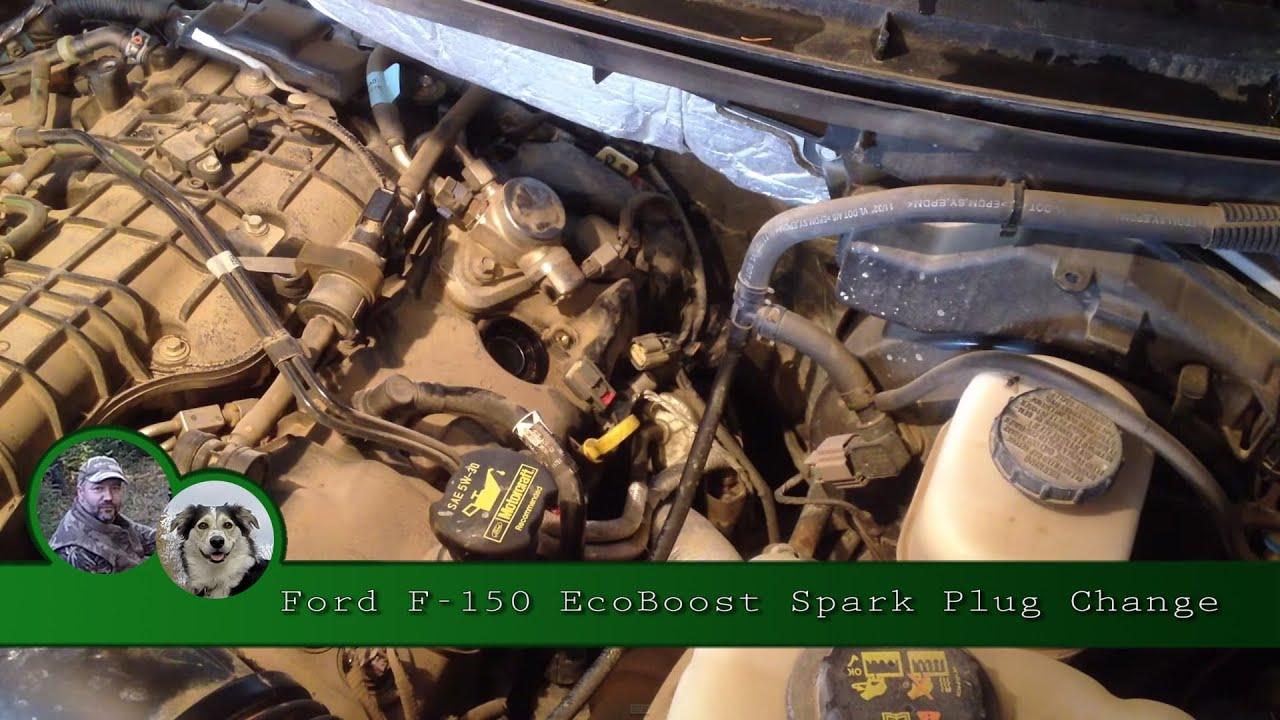 ford f 150 ecoboost spark plug change [ 1280 x 720 Pixel ]