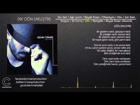Dön (Akustik) - Gökhan Türkmen (Official Lyric Video)