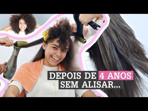 ALISEI O MEU CABELO!   por Ana Lídia Lopes