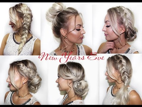 Cute New Years Eve Hairstyles Süße Silvester Party Frisuren YouTube