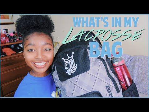 What's In My Lacrosse Bag! 2018 | Maya Elizabeth