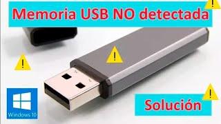 MI MEMORIA USB NO APARECE EN MI PC (NO DETECTADA) SOLUCIÓN 2018