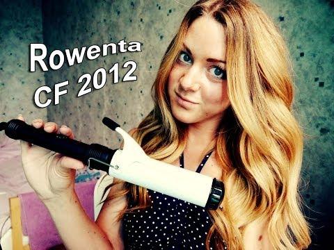 Обзор на плойку (щипцы) ROWENTA CF 2012 диаметр 40 мм