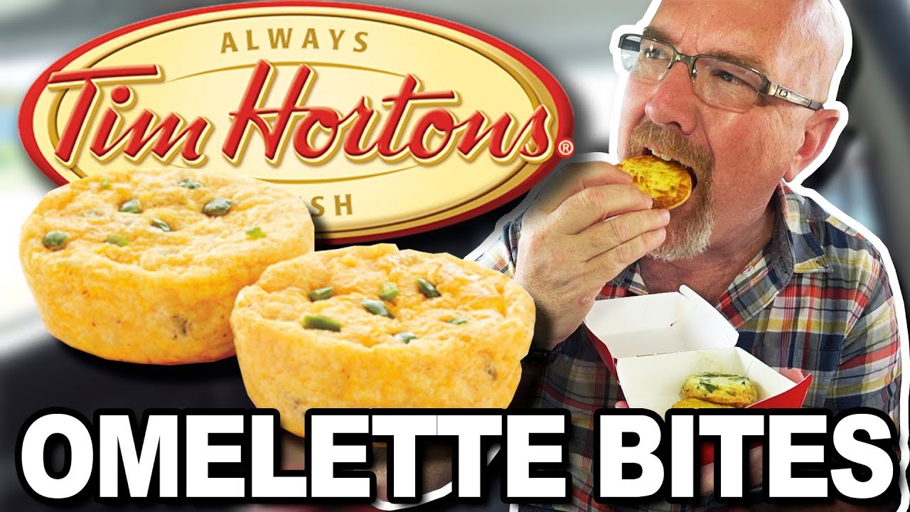 Tim Hortons Omelette Bites • Bacon & Cheese, Spinach & Egg White and NEW Jalapeño & Che
