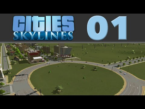 A Roundabout Way of Doing Things - Cities: Skylines ep. 1