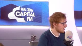 Ed Sheeran talks about Anne Marie and Zara Larsson