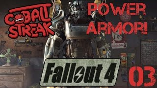 Fallout 4! #03 - DogMeat - Cobalt Streak