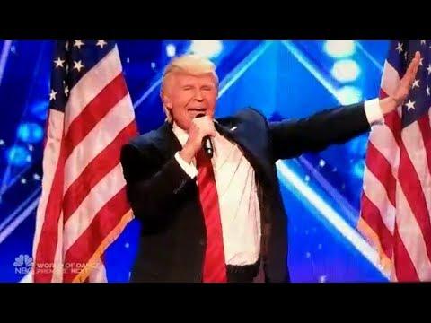 Comedy Song Of Trump Mee Aaru Gurralu Maa Aaru Gurralu