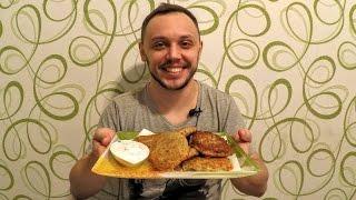 Драники из картошки принцип вкусного приготовления(Картофельные драники рецепт с вкусным сливочным соусом. Ингредиенты на рецепт драников из картошки: Картоф..., 2016-11-10T05:00:02.000Z)