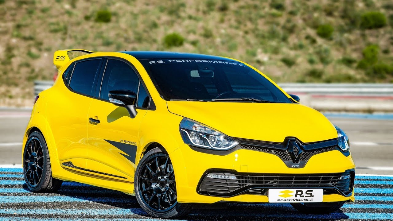 renault clio rs with rs performance parts youtube