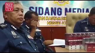 Johor Customs smokes out hidden contraband ciggies