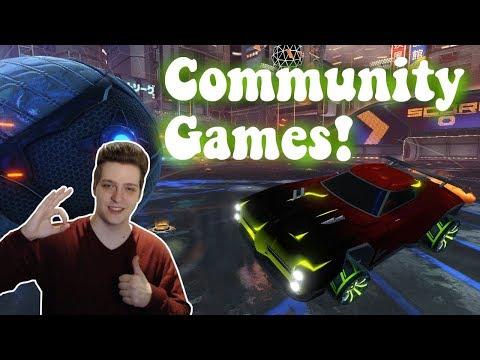 Spaßige Community-Games! | Rocket League: Gameplay [German][HD]