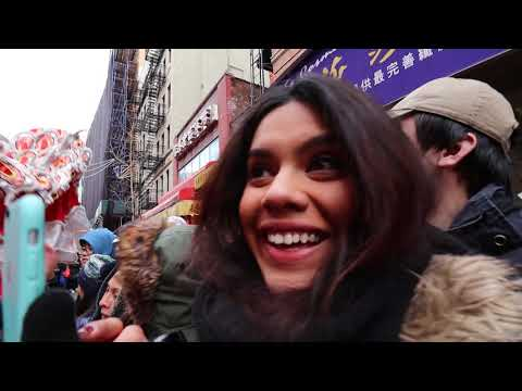 MUST DO in NYC- Chinese Lunar New Year Parade 2019 (Chinatown, Manhattan)