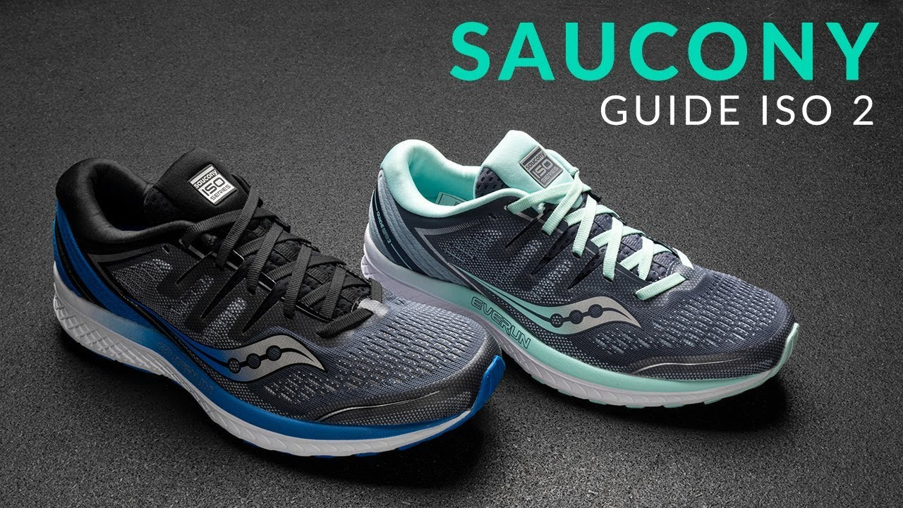 a3c0a40f0017 Saucony Guide ISO 2 - Running Shoe Overview - YouTube