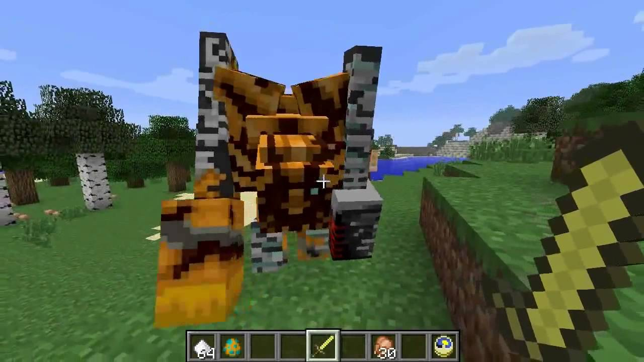 Minecraft nightmare pumpkin golem youtube - Minecraft golem de diamant ...