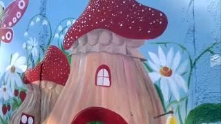 Детский сад. Роспись стен.