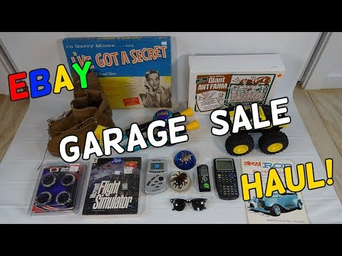 Big Garage Sale & Thrift Ebay Haul! - Flips & Finds #24