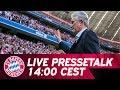 LIVE 🔴 | FC Bayern-Pressetalk mit Jupp Heynckes vor Celtic Glasgow