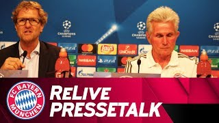 ReLive | FC Bayern Press Conference w/ Jupp Heynckes ahead of Celtic Glasgow