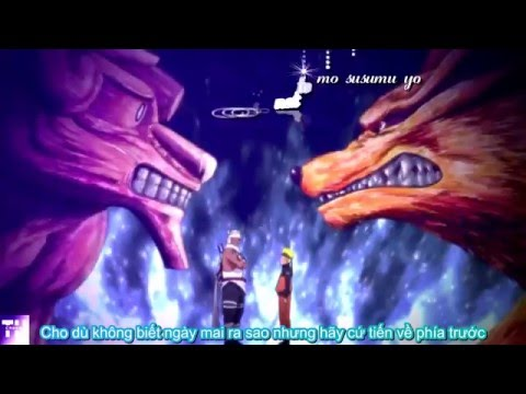 Naruto Shippuden Opening 9-Lovers [Vietsub + Kara + Creditless]