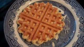 Malted Milk Waffle [recipe]