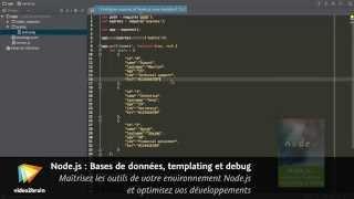 Tutoriel Node.js : En savoir plus sur l'application de test | video2brain.com