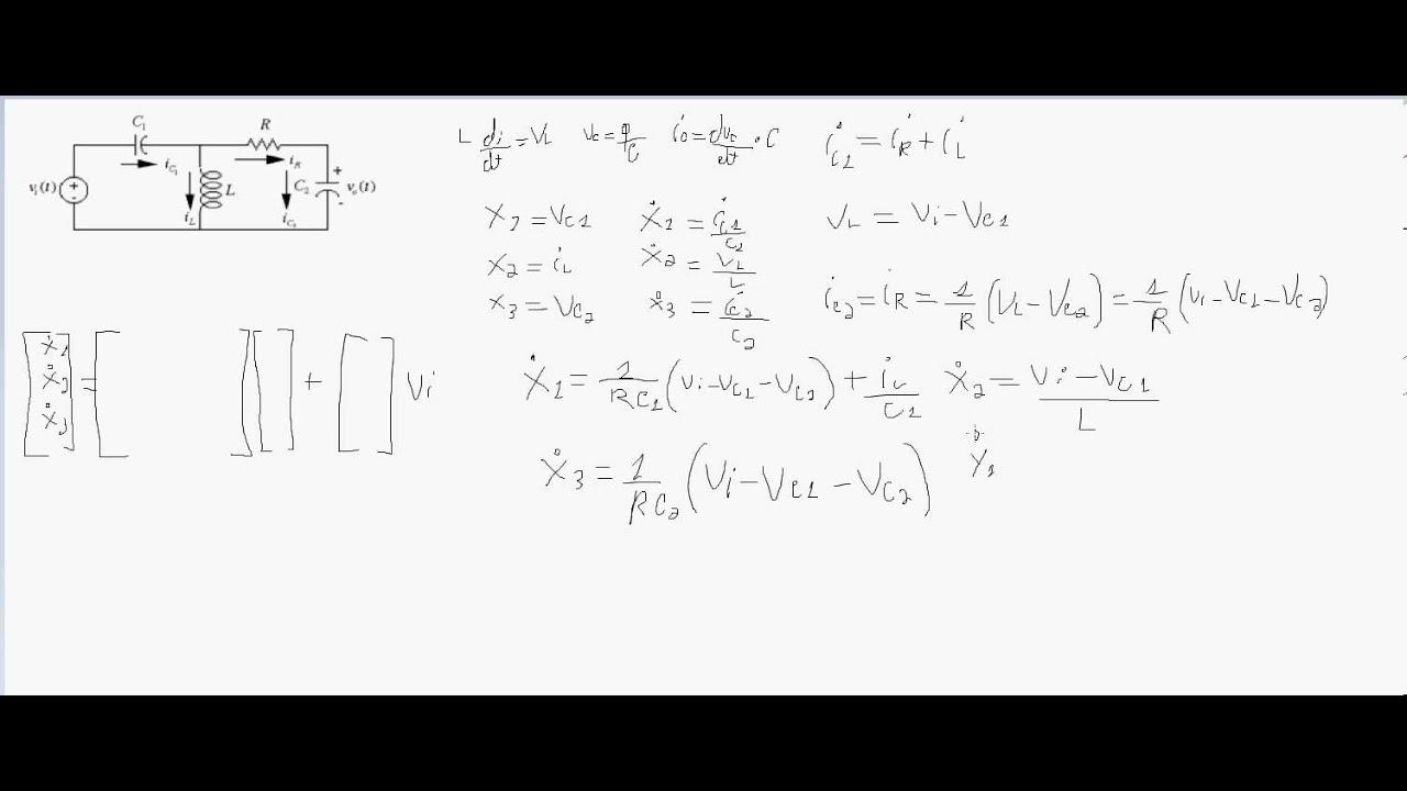 Circuito Rlc Serie Exercicios Resolvidos : Modelagem de circuito rlc passo a sitemas