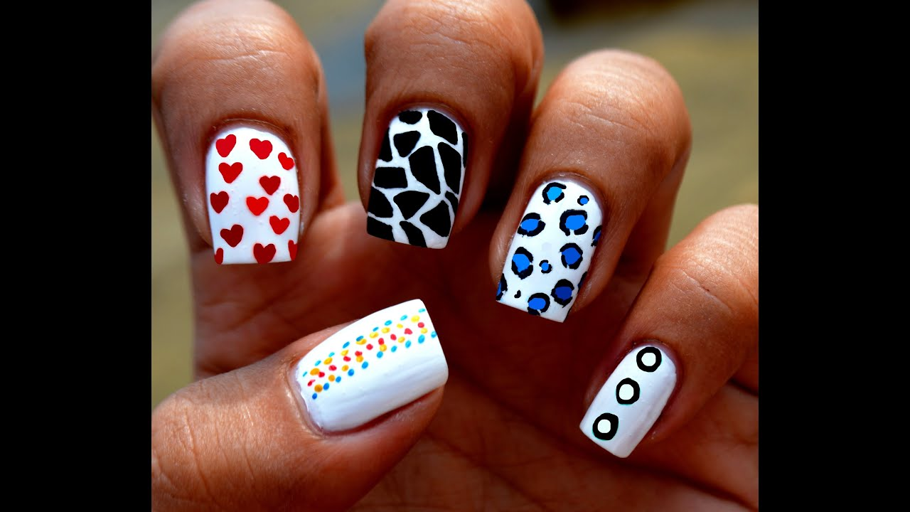 Image Gallery Nail Art At Home