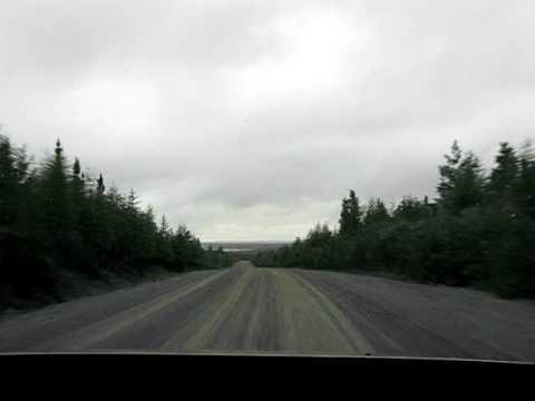 Driving the Trans-Taiga Road