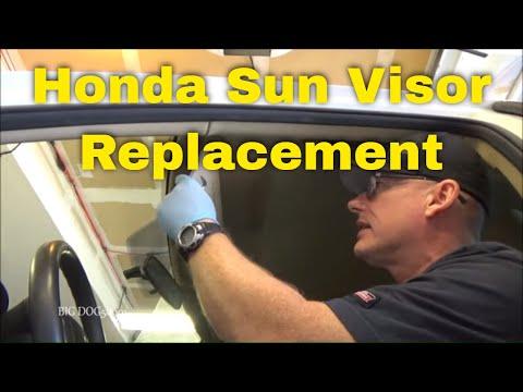 How to Replace a Honda Sun Visor – 2012 Accord (2008-2012 Similar)