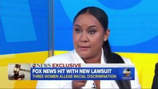 Fox News faces lawsuit alleging 'appalling discrimination'