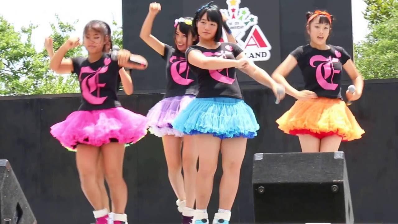 愛の葉Girls モノクロ 2016.7.3 ...